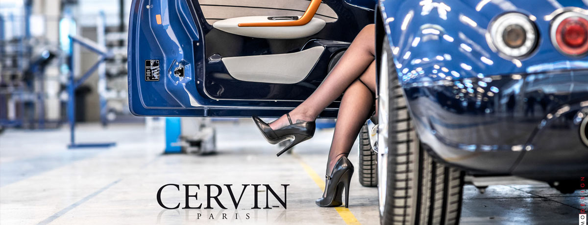 Cervin Paris Seamless Stockings